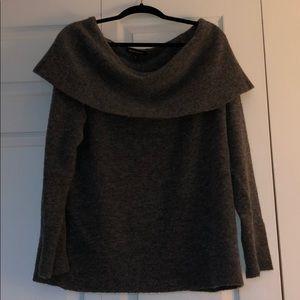 Banana Republic Off the Shoulder Sweater XL
